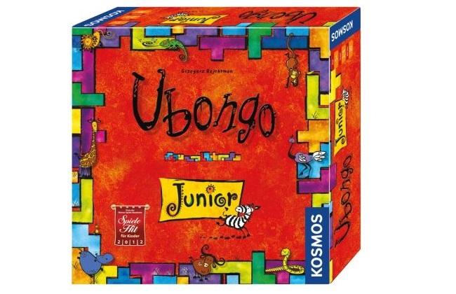 Gesellschaftsspiel Ubongo Junior