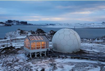Antarktis-Gewächshaus