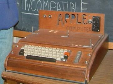 Erster Apple-Rechner