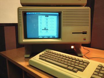 Apple Lisa mit grafischer Benutzeroberfläche