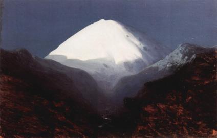 Blick auf den Elbrus (Gemälde)