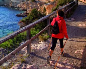 Wanderer auf Ibiza
