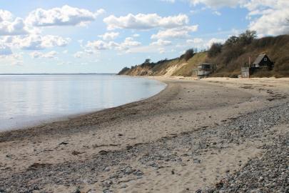 Strand und Steilküste in Dänemark