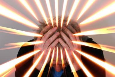 Grafische Darstelllung von Kopfschmerz