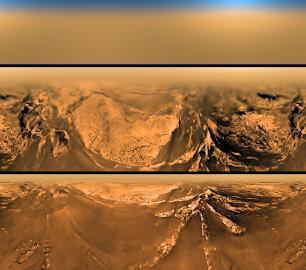 Oberfläche Saturnmond Titan