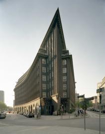 Chilehaus von Fritz Höger im Hamburger Kontorhausviertel