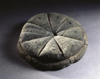 Versteinerter Brotlaib aus Herculaneum
