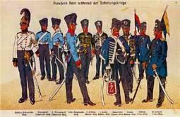 Einführung der Wehrpflicht: Preußisches Heer während der Befreiungskriege gegen das napoleonische Frankreich