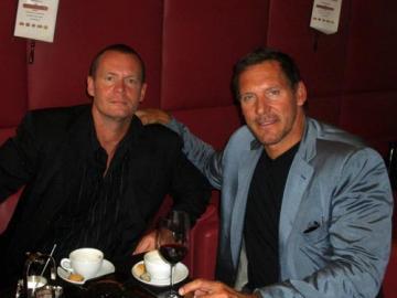 """Ralf Meier und """"Gladiator"""" Ralf Moeller"""