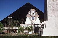 Alt-Ägypten in Las Vegas: das Hotel Luxor