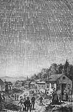 Der Meteorsturm von 1833
