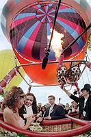 Trauung im Heißluftballon