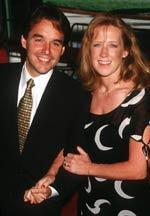 Chris Columbus mit Frau Monika bei der Premiere zu 'Nine Months'