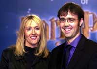 Joanne K. Rowling mit ihrem Freund, dem Arzt Neil Murray