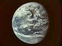 Die Erde, unser Heimatplanet.