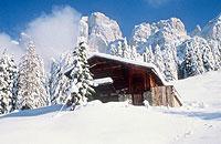 Winterlandschaft in Südtirol