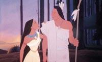 Szene aus Pocahontas