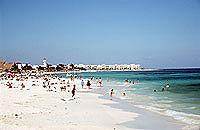 Strand von Playa del Carmen