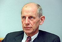 Der Präsident des Deutschen Industrie- und Handelskammertages, Ludwig Georg Braun