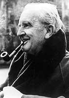 """J.R.R. Tolkien, Schöpfer der Trilogie """"Der Herr der Ringe"""", erfand für seine Figuren gleich mehrere Sprachen."""
