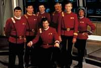 Die Crew aus Star Trek V