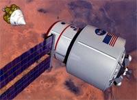 Noch wird nach der richtigen Antriebsform für eine bemannte Mars-Mission gesucht.