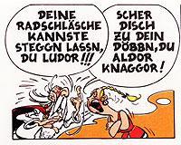 Asterix & Co. auf sächsisch: Die Abenteuer der Gallier gibt es inzwischen in vielen Mundarten.