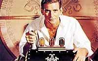 """Foto: FFV. Rod Taylor als Erfinder George in der ursprünglichen Version von """"Die Zeitmaschine""""."""