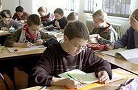 Der Unterrichtsstoff an deutschen Schulen ist von Bundesland zu Bundesland verschieden.