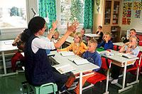 Vorbild Finnland: Ganztägiger Schulunterricht kommt den Kindern zugute.