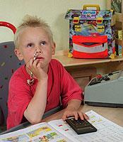 Kopfrechnen statt Taschenrechner bedienen? Die Lernbereitschaft der Schüler leidet unter dem technischen Fortschritt.