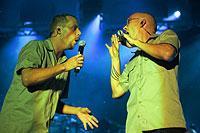 """HipHop-Bands wie """"Die Fantastischen Vier"""" gehören zu den Großmeistern des Endreims."""
