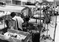Intensivstation eines Kinderkrankenhauses
