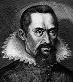 Johannes Kepler, deutscher Astronom (27.12.1571 - 15.11.1630)