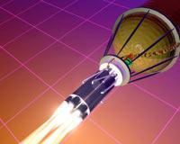 Schub-Explosions-Antriebs System