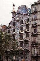 Die Casa Batlló in Barcelona