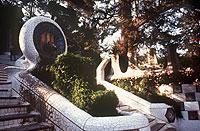 Vereint Natur und moderne Architektur: der Park Güell