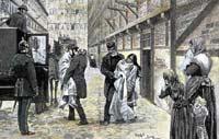 Die Cholera in Hamburg