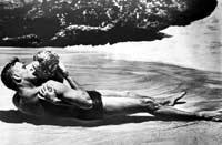 """Burt Lancaster und Deborah Kerr in """"Verdammt in alle Ewigkeit"""""""