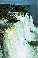 Majestätisch: Wasserfälle von Iguaçu.