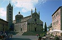 Imposant: Dom von Massa Marittima.