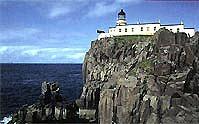 Wildromantisch: Neist Point Lighthouse auf der Isle of Skye (© Neist Point Light