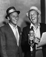 Frank Sinatra (l.) und Bing Crosby © Corbis-Bettmann, New York.jpeg