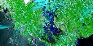 Der Mekong am 29.08.2002.