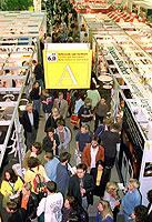 Der weltweit bedeutendste Branchentreff im Bereich Buch und Medien: die Frankfurter Buchmesse.