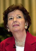 Mary Robinson, UN-Hochkommissarin für Menschenrechte, wird in diesem Jahr an einer Podiumsdiskussion teilnehmen.