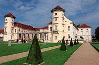Beindruckende Barockanlage: Schloss Rheinsberg.