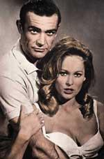 Sean Connery mit Ursula Andress