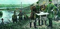 Im Petersburger Vertrag von 1907 legten Großbritannien und Russland die Grenzen in Persien, Afghanistan und Tibet fest. Bereits 1886 wurde der erste Grenzpfahl im Dreiländereck in Zulfikar aufgestellt.