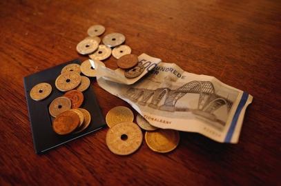Dänisches Geld